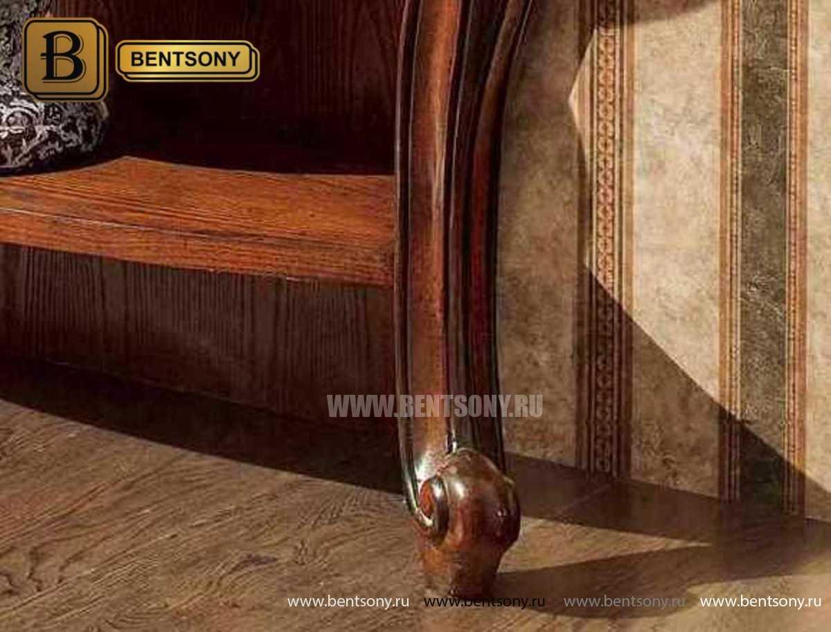 Консоль Монтана (деревянная столешница, классика) купить