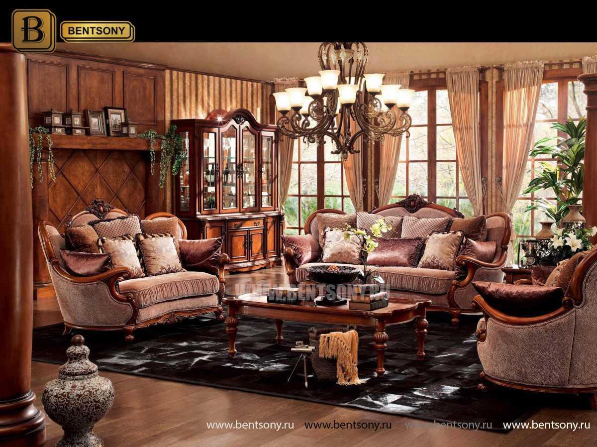 Гостиная Монтана B (Классика, Ткань, Массив дерева) цена