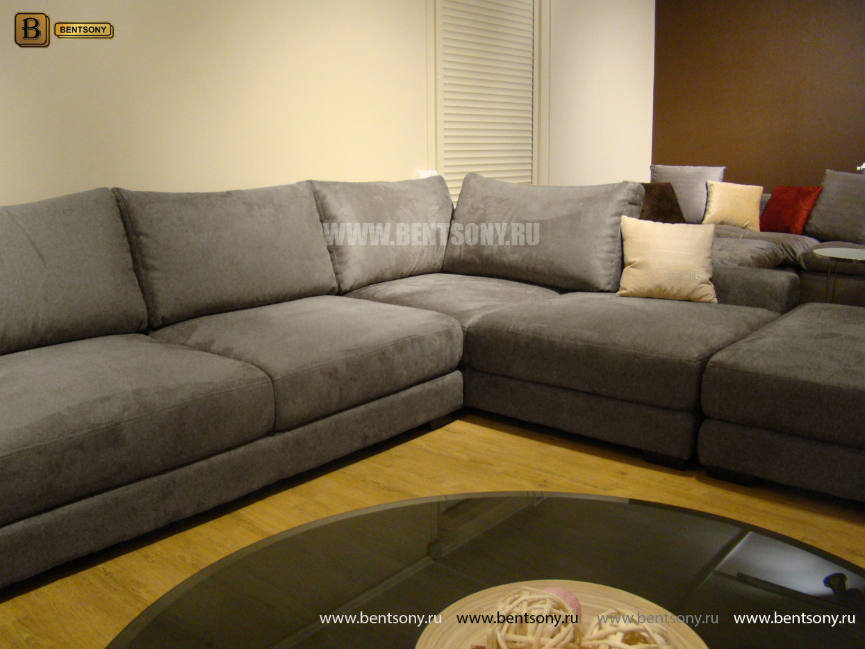 Модульный диван Луиджи для гостинной фото