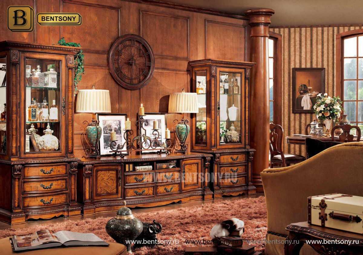 Гостиная Монтана B (Классика, Ткань, Массив дерева) купить в СПб
