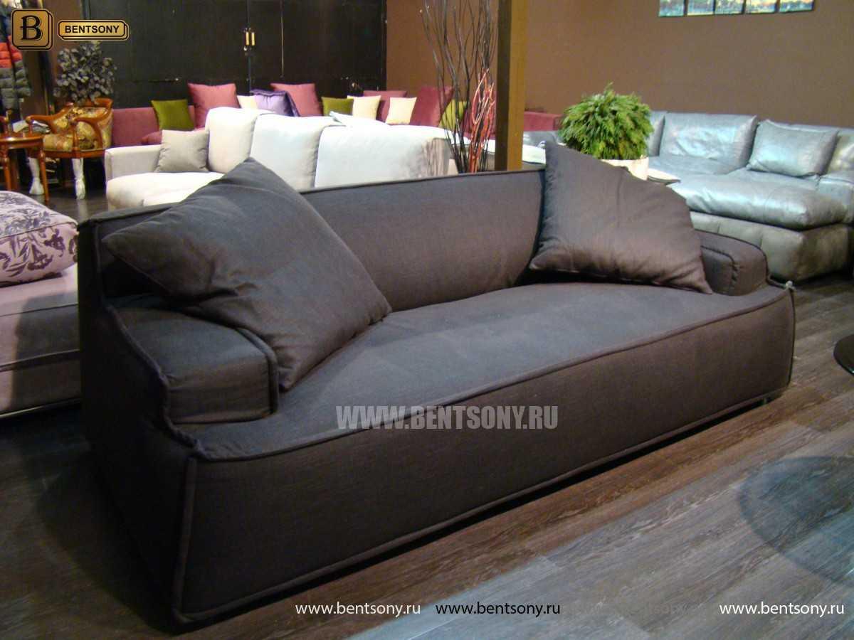 черный диван Галардо фото