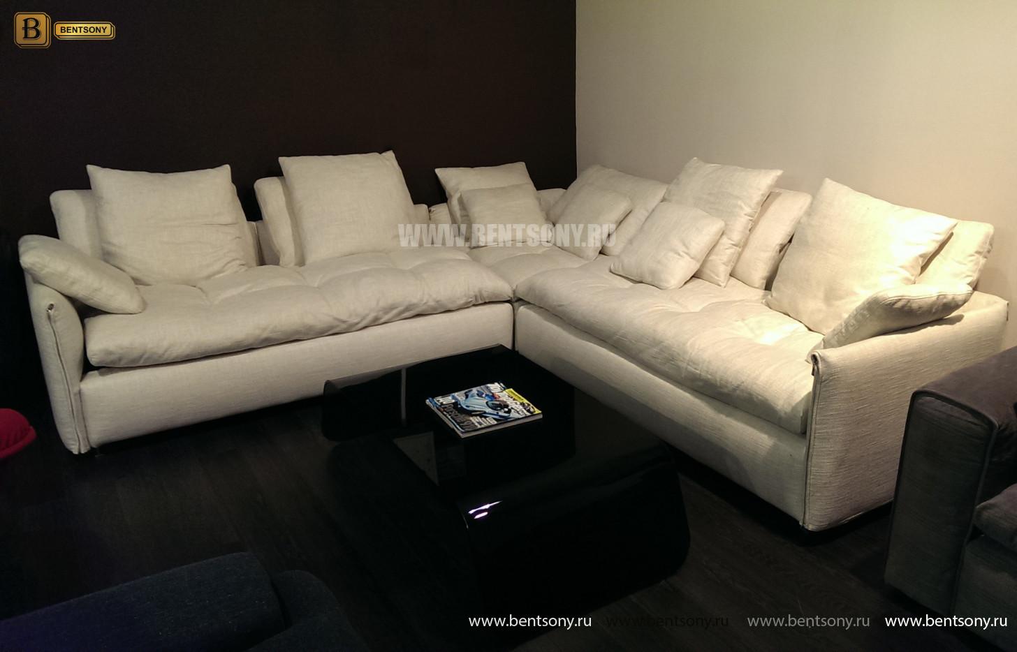 Угловой диван Арлетто с подушками