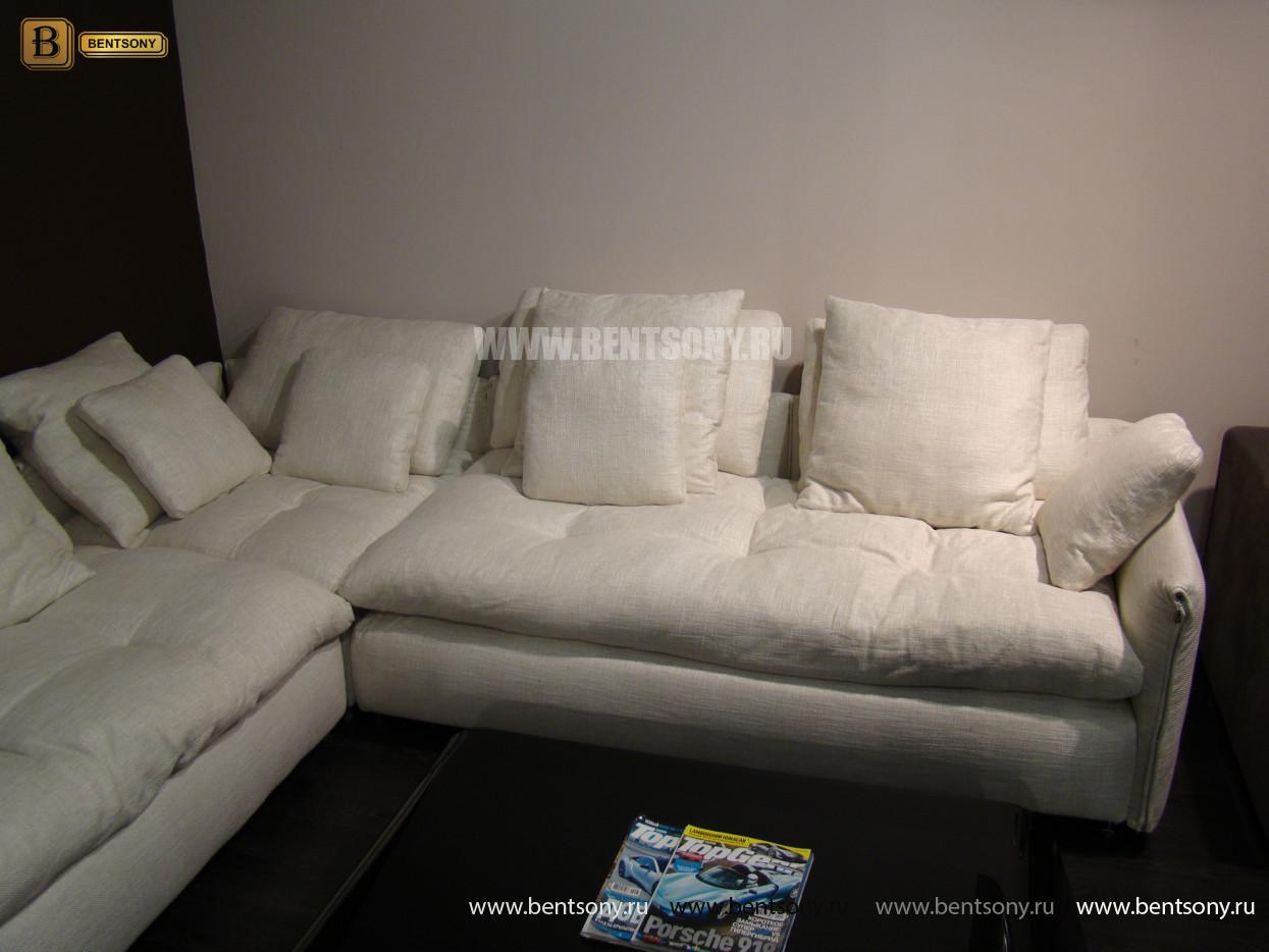 уютный модульный диван Арлетто
