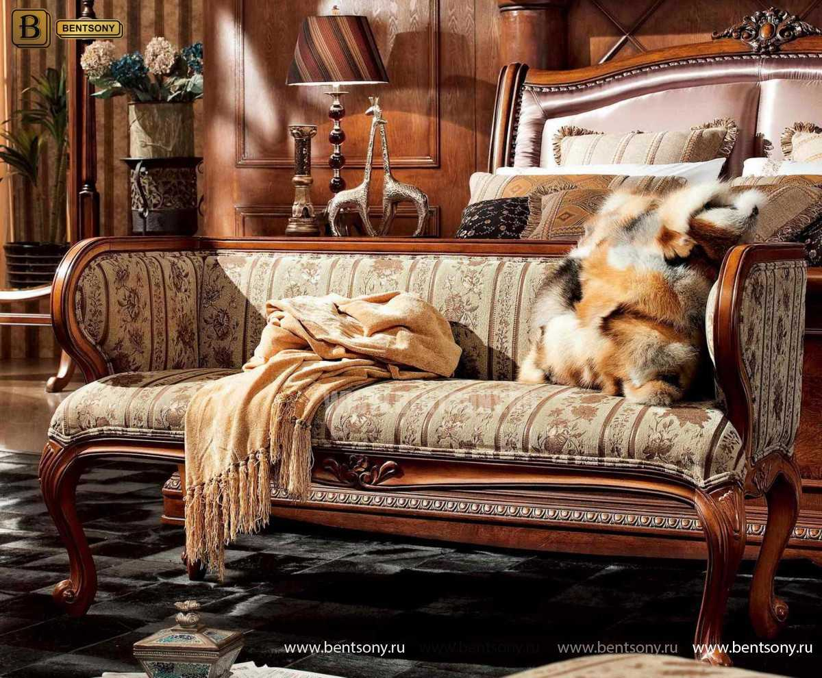 Кровать Монтана C (Классика, массив дерева, ткань) в СПб