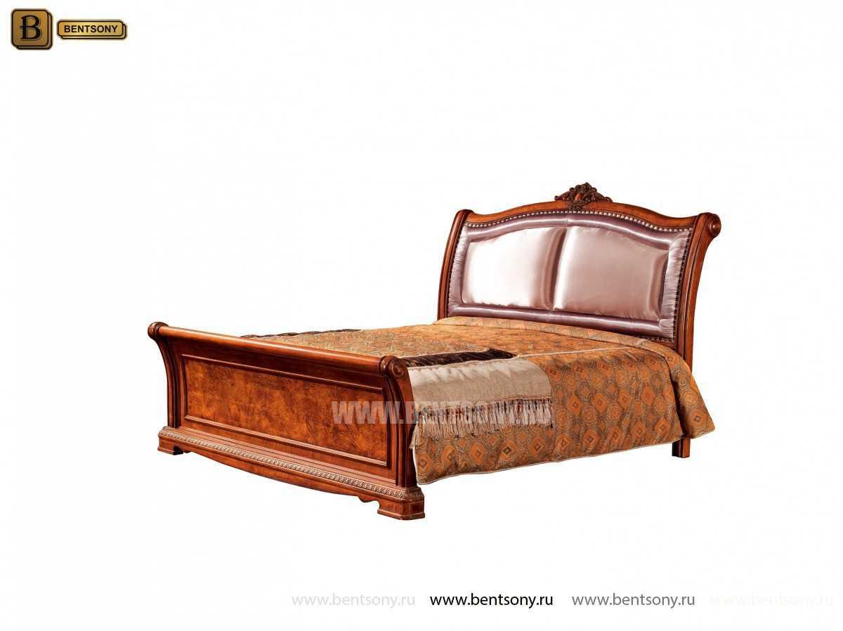 Кровать Монтана C (Классика, массив дерева, ткань) интернет магазин
