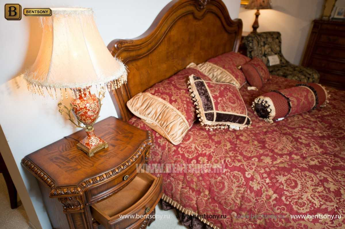 Кровать Монтана D для спальни (Классика, массив дерева) в Москве