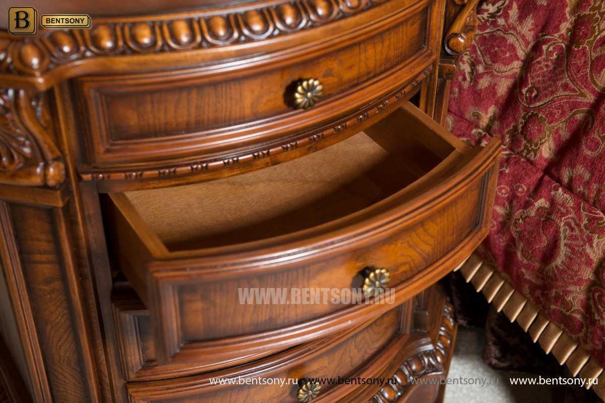 Классический прикроватный столик массив Дерева от Бенцони