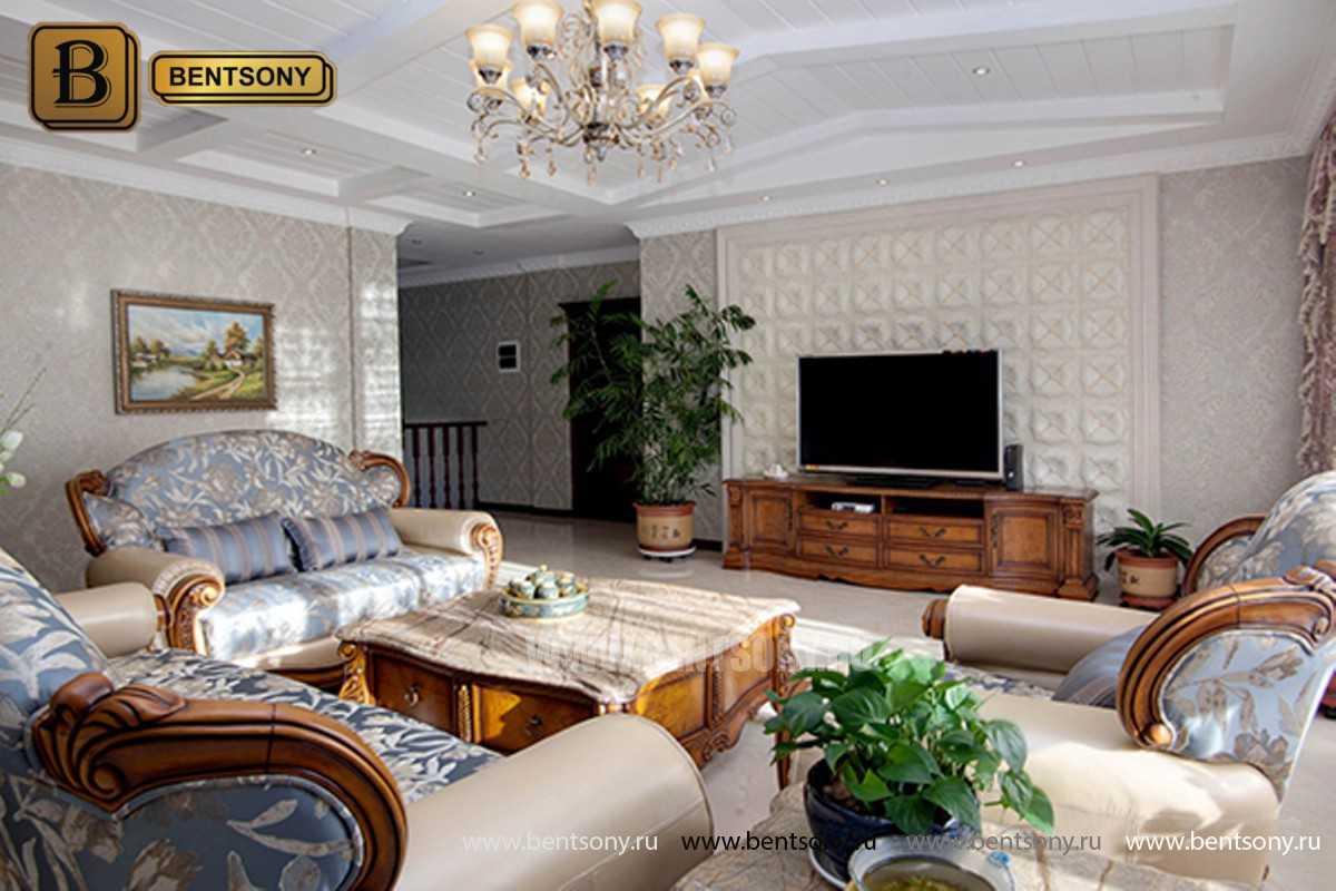 ТВ Тумба Монтана A (Столешница дерево, классика) в СПб