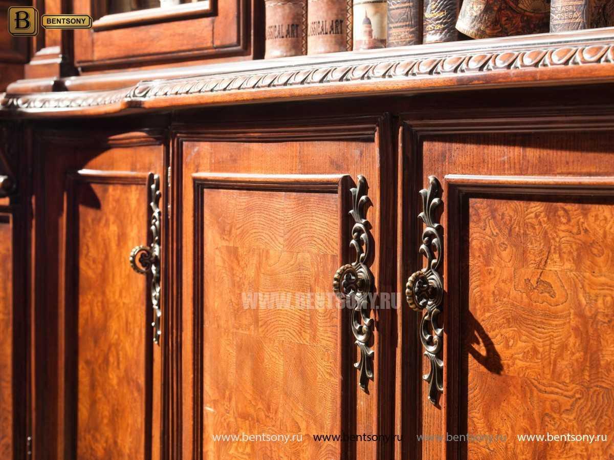 Шкаф Книжный Монтана (Угловой, массив дерева) официальный сайт цены