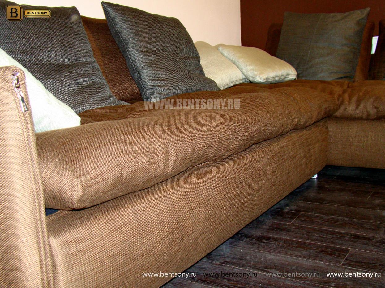 купить диван Арлетто коричневый