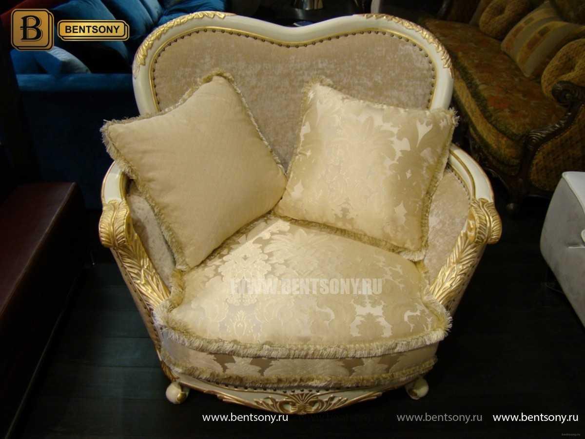 Кресло Амадео (Классика, массив дуба, патина) официальный сайт цены