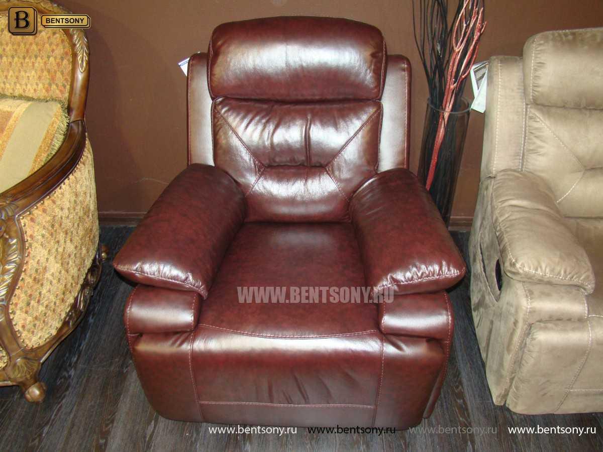 мебель кресло кожа Амелия