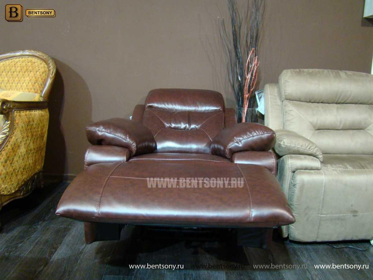 релакс кресло Амелия кожа