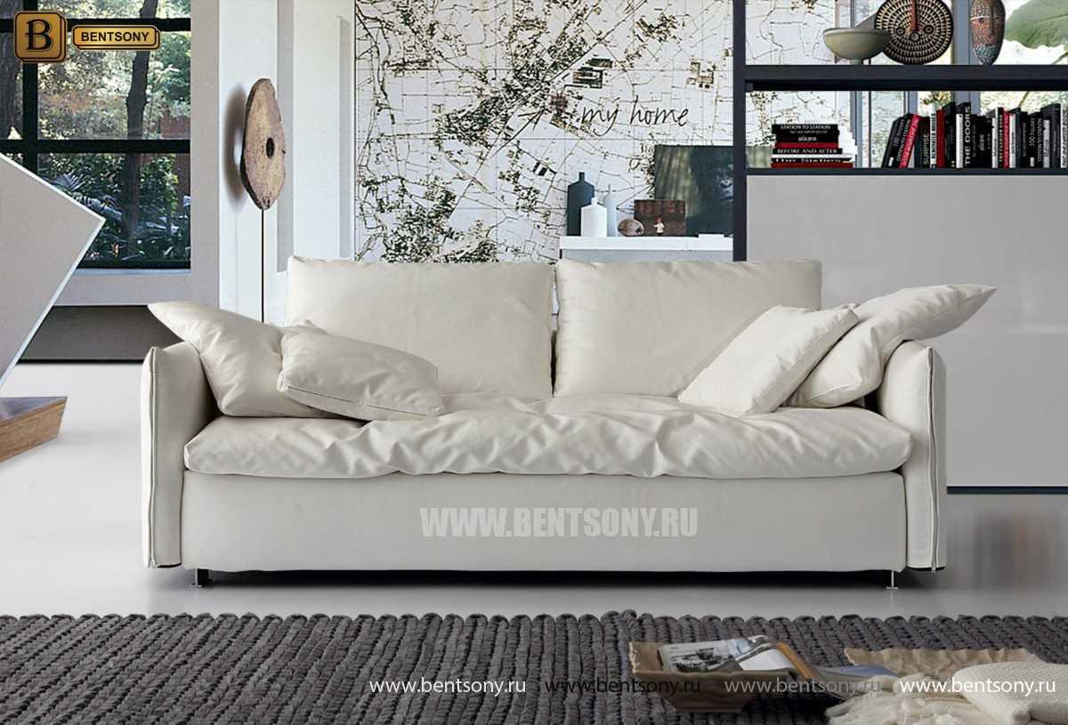 купить прямой диван Арлетто рогожка
