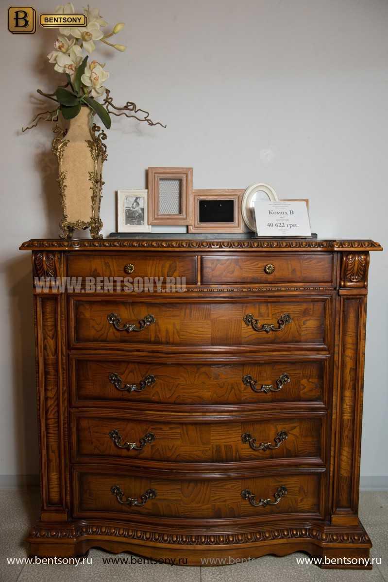 Спальня Монтана С (Классика, массив дерева) каталог с ценами
