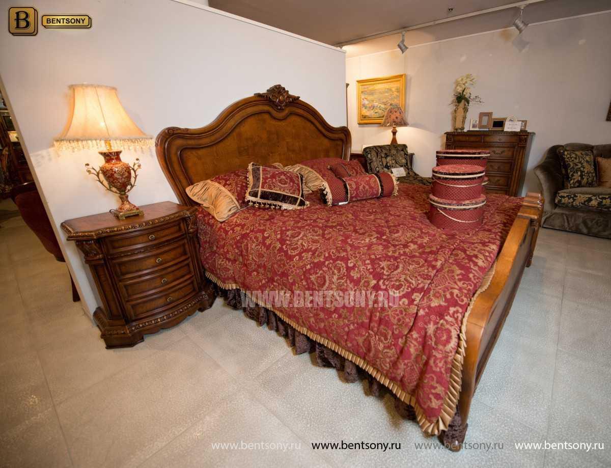 Спальня Монтана D (Классика, массив дерева) для квартиры