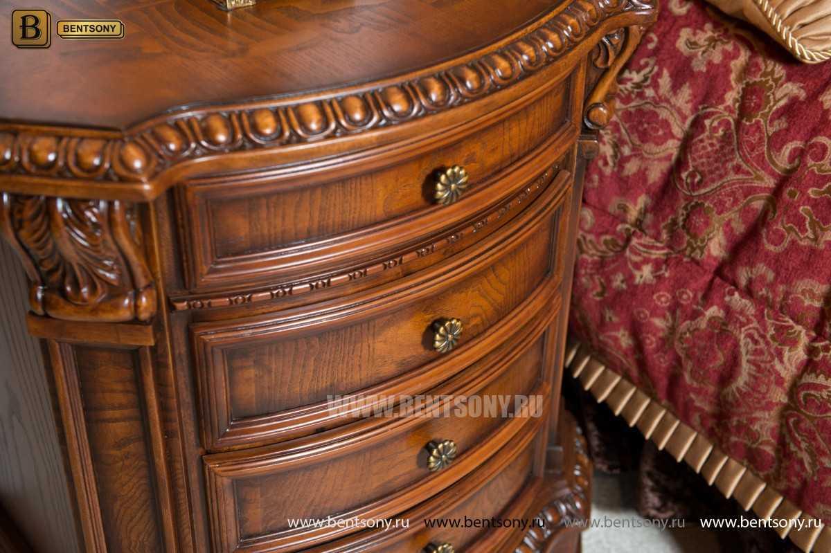 Спальня Монтана D (Классика, массив дерева) каталог мебели