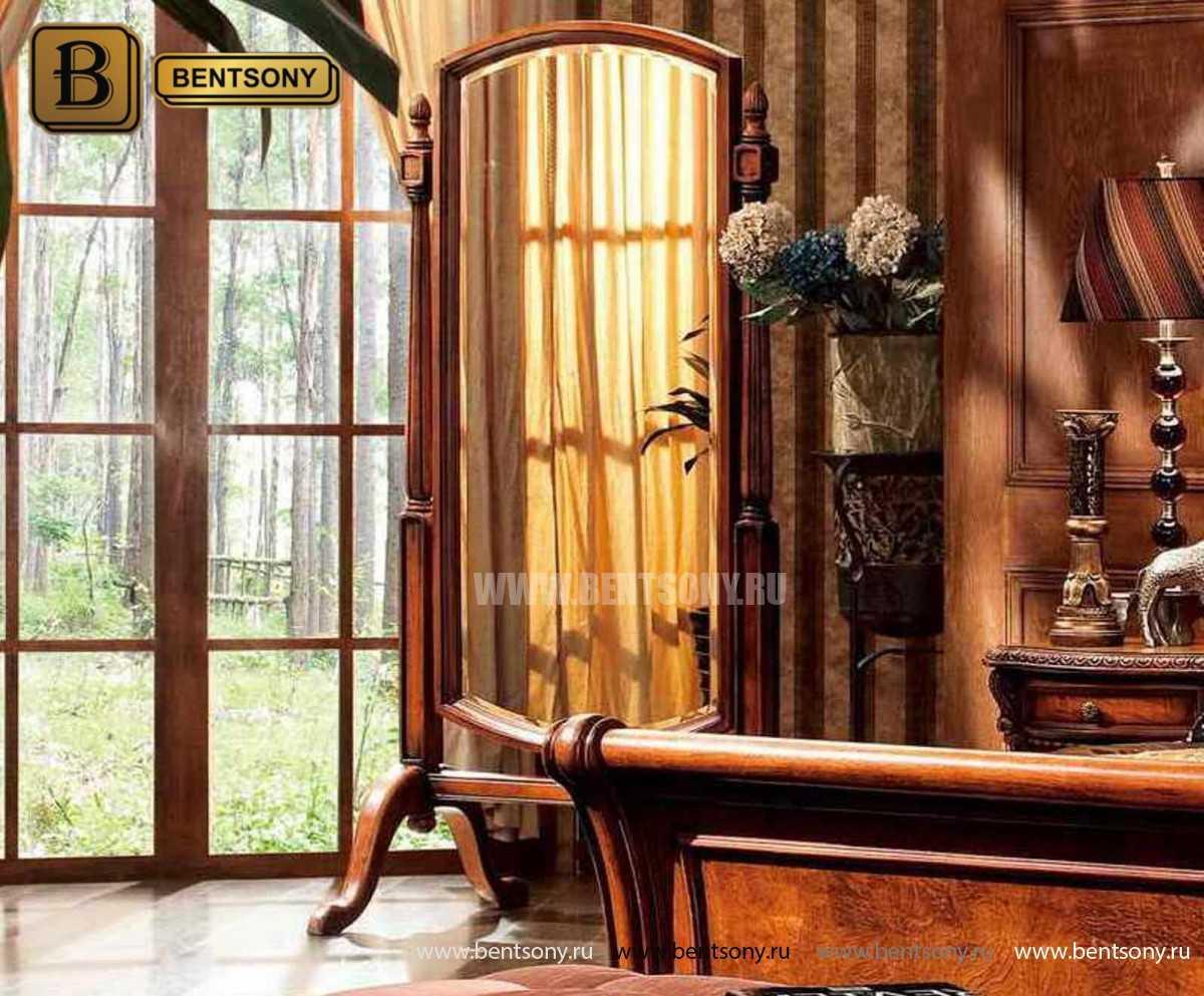 Спальня Монтана D (Классика, массив дерева) для загородного дома