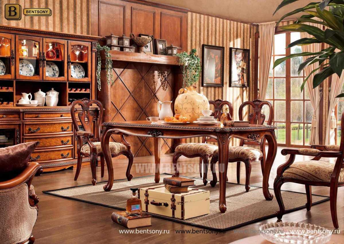 Обеденный стол Монтана (Классика, массив дерева)  купить в Москве