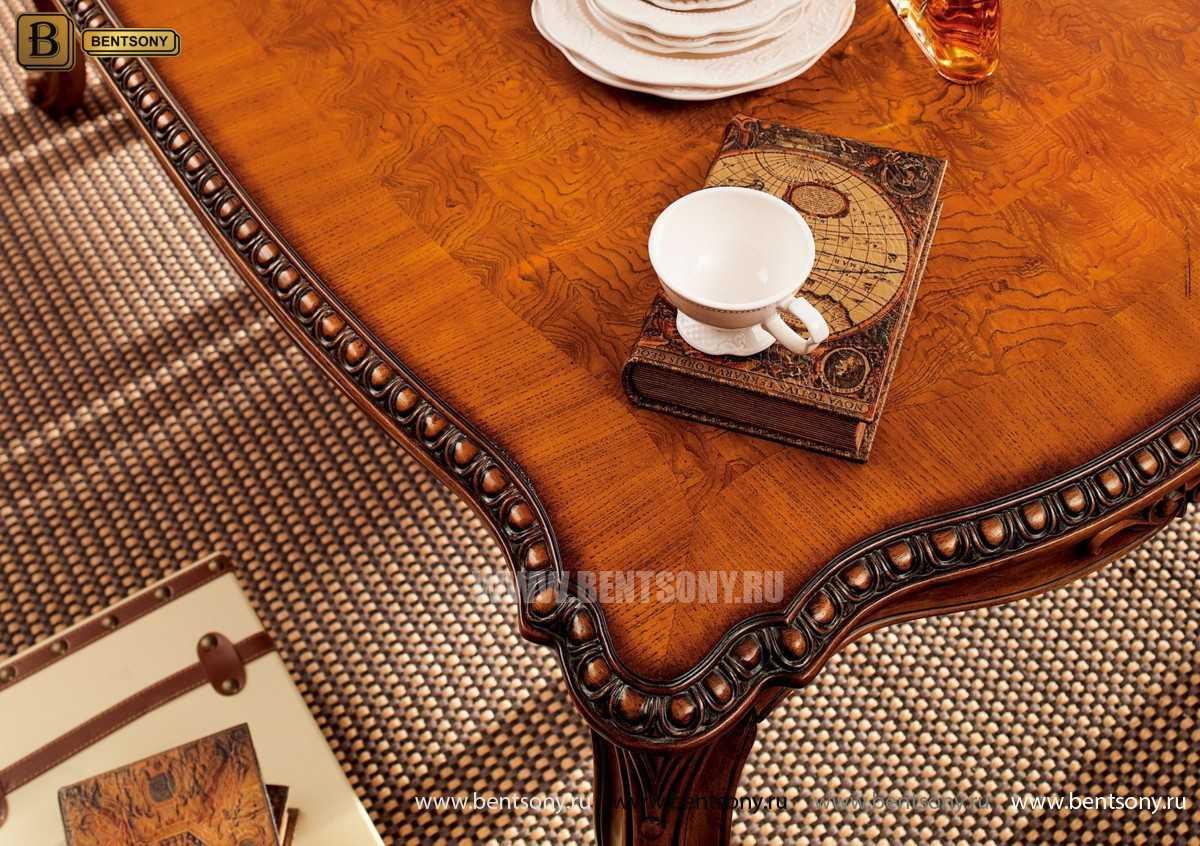 Обеденный стол Монтана (Классика, массив дерева)  в интерьере