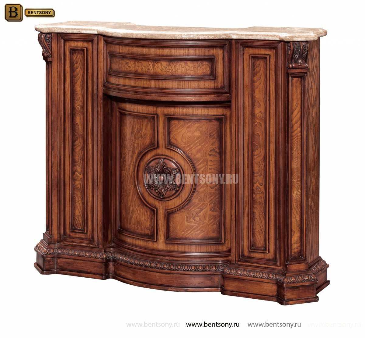 Барная стойка Монтана (Классика, столешница мрамор) каталог мебели с ценами