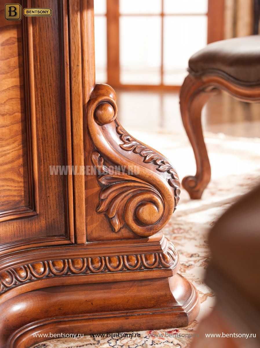 Обеденный стол Монтана (Круглый, массив дерева) в СПб
