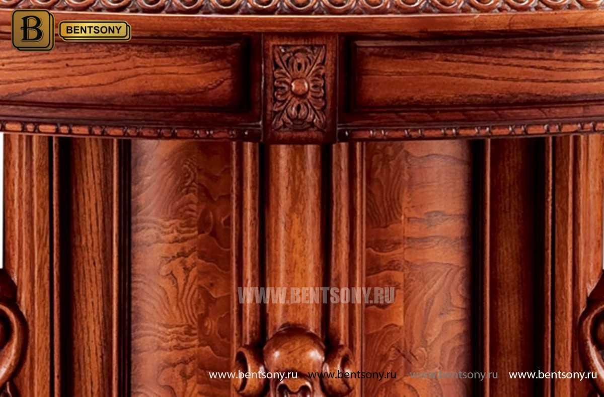 Обеденный стол Монтана (Круглый, массив дерева) официальный сайт цены