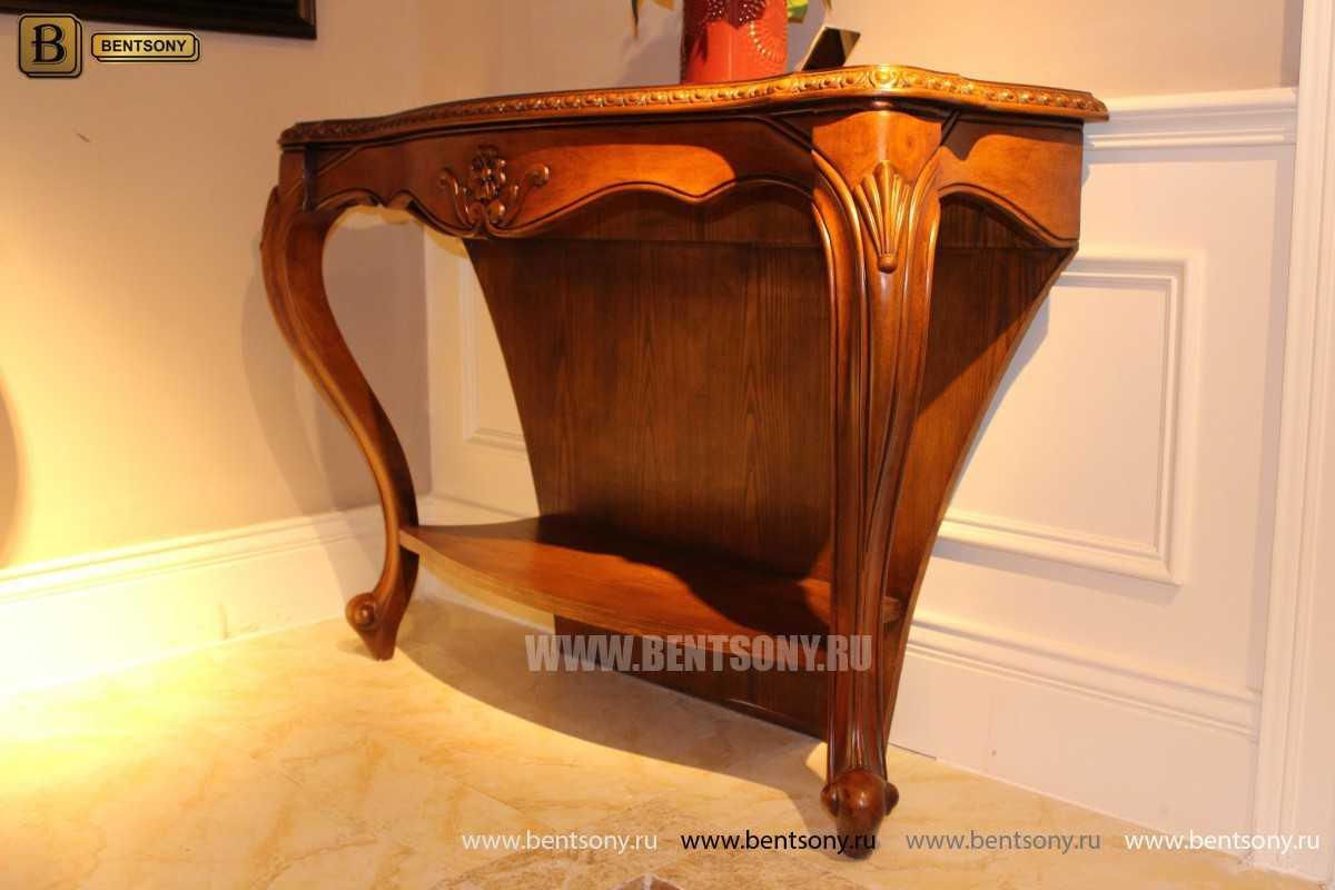Консоль Монтана (деревянная столешница, классика) распродажа