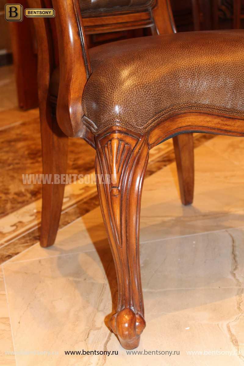 Стул Монтана А (Классика, натуральная кожа) для загородного дома