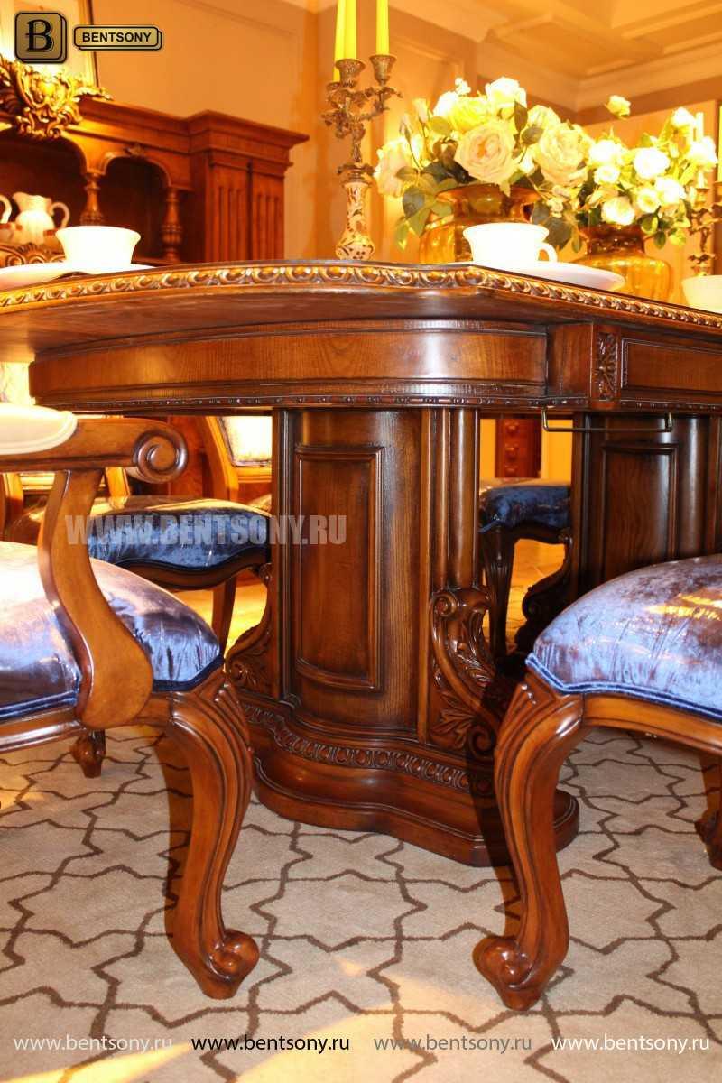 Обеденный стол Монтана (Раскладной, массив дерева) для квартиры