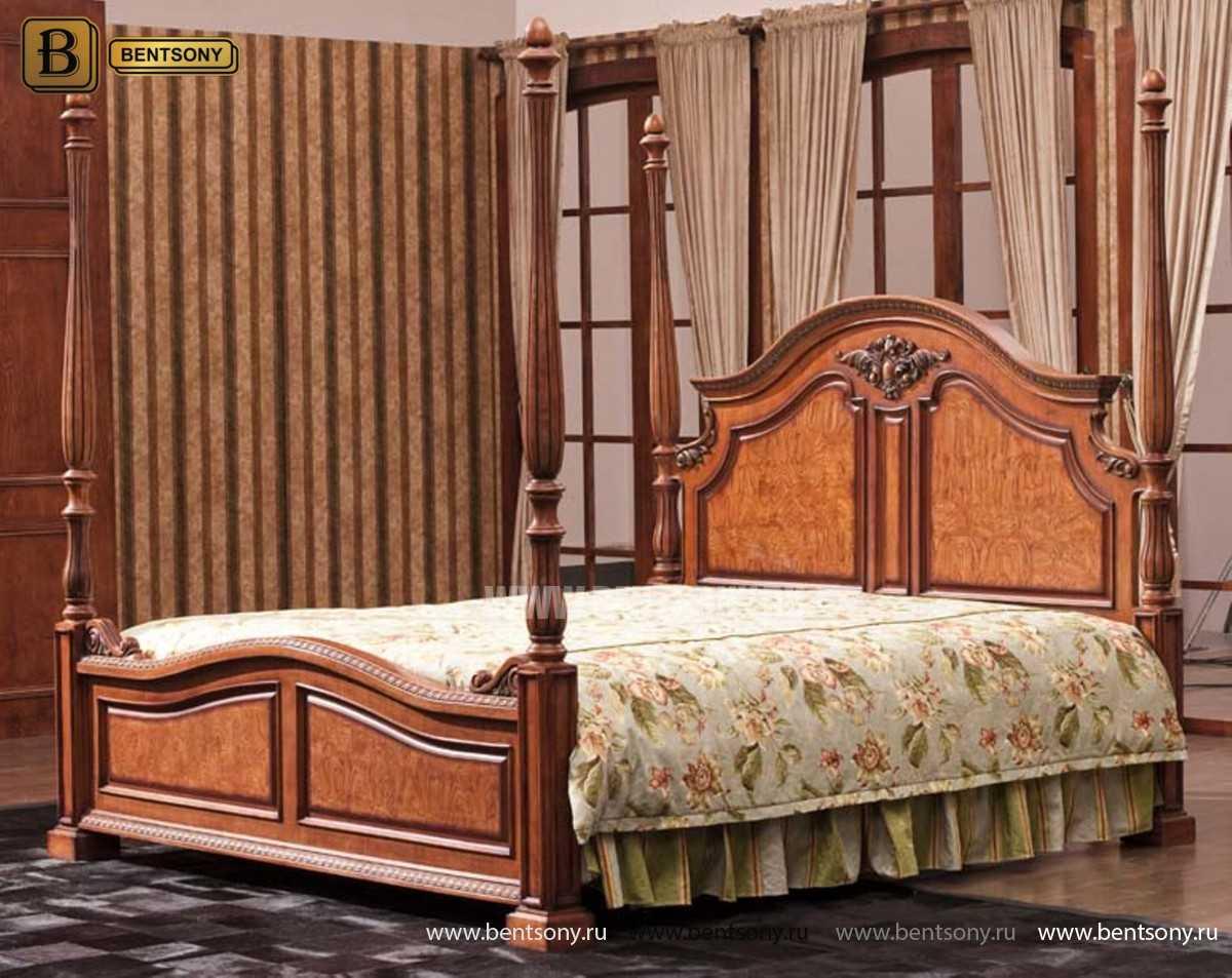 Кровать Монтана А (Классика, массив дерева)