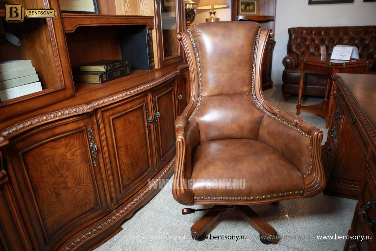 Кресло руководителя кожаное Монтана М03