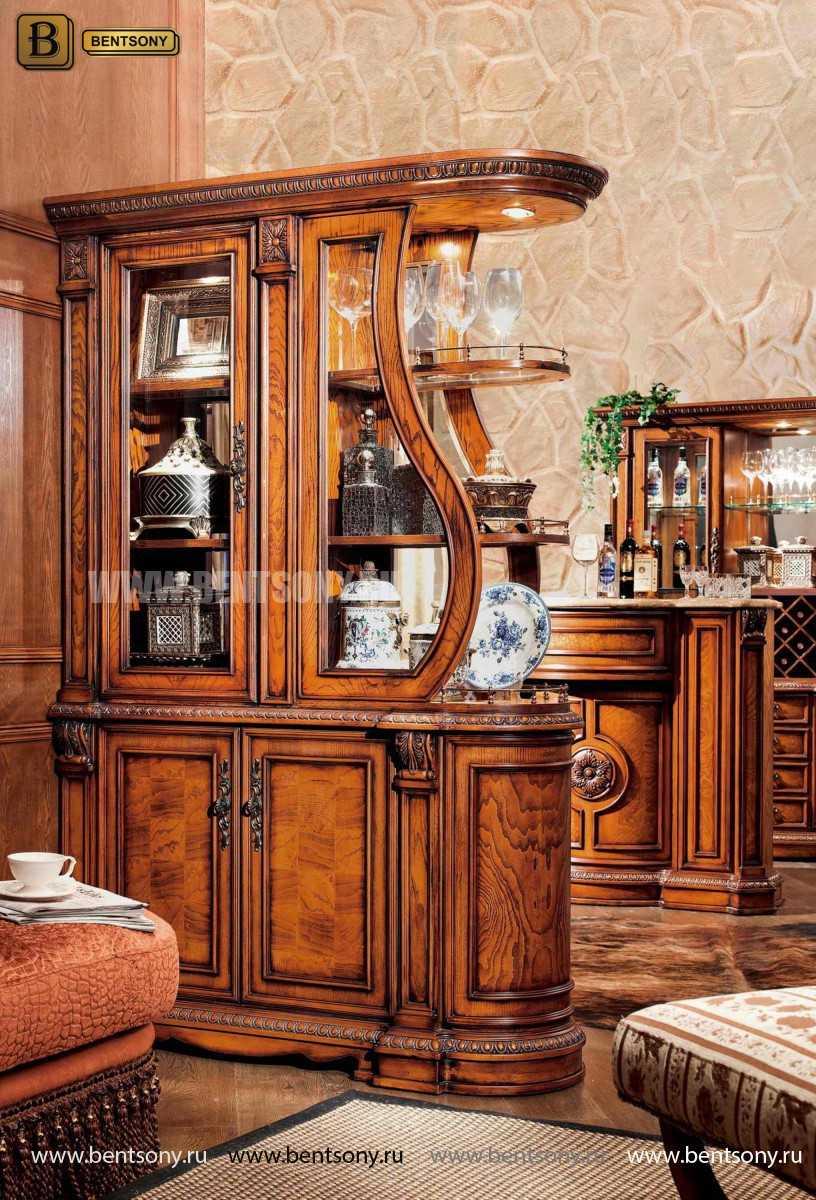 Cтоловая Монтана 02 (Классика, массив дерева) каталог мебели