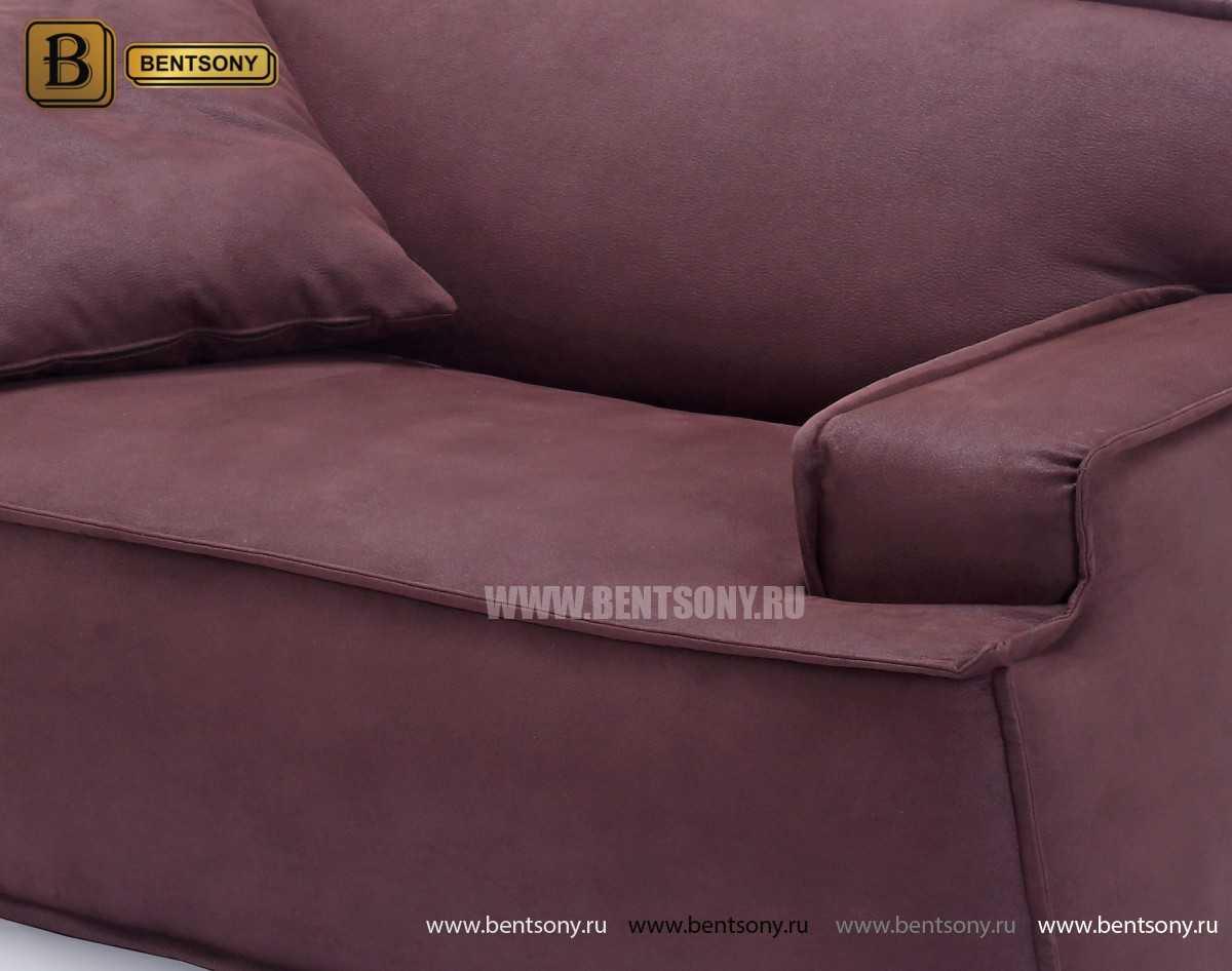 купить мягкий диван Галардо бордо
