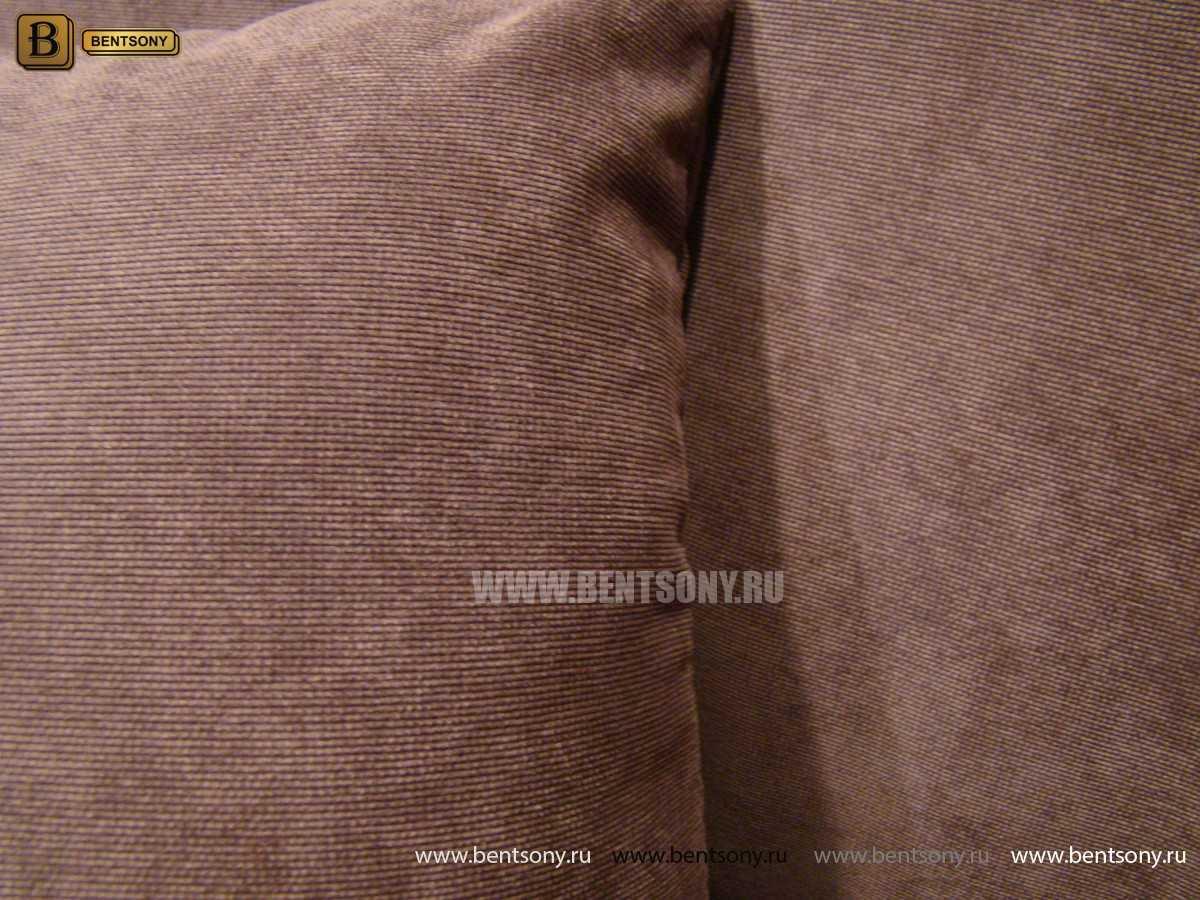 Диван Дельфико (Прямой, Ткань, Велюр) официальный сайт цены