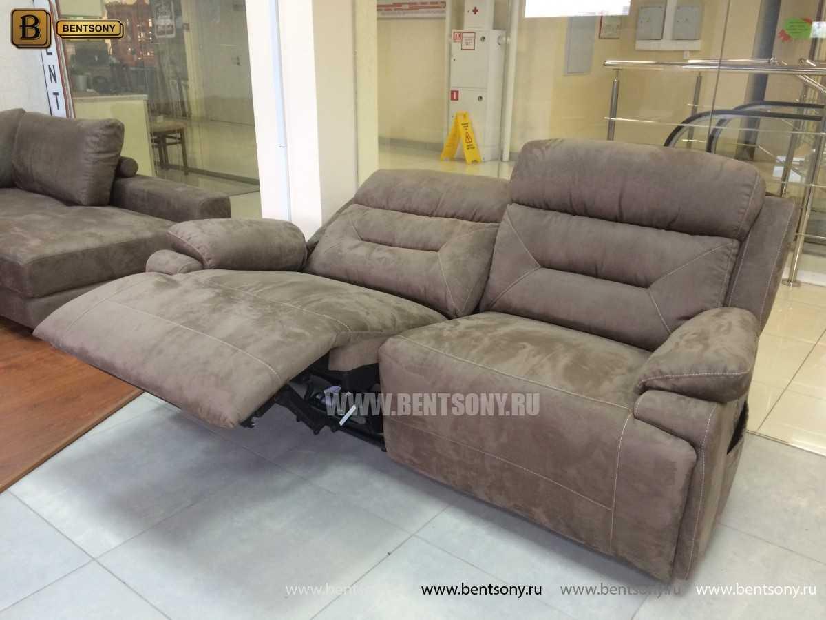 купить тканевый прямой диван Амелия