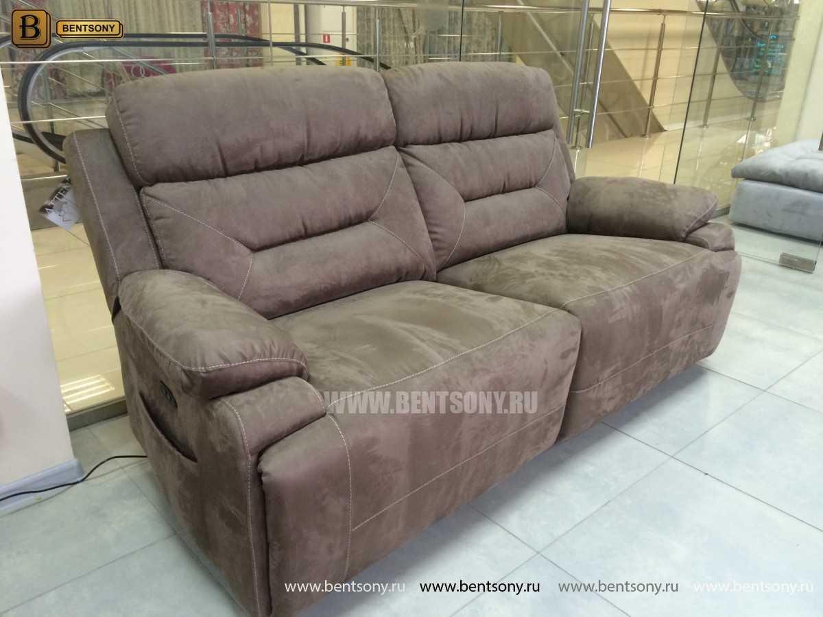прямой тканевый диван Амелия
