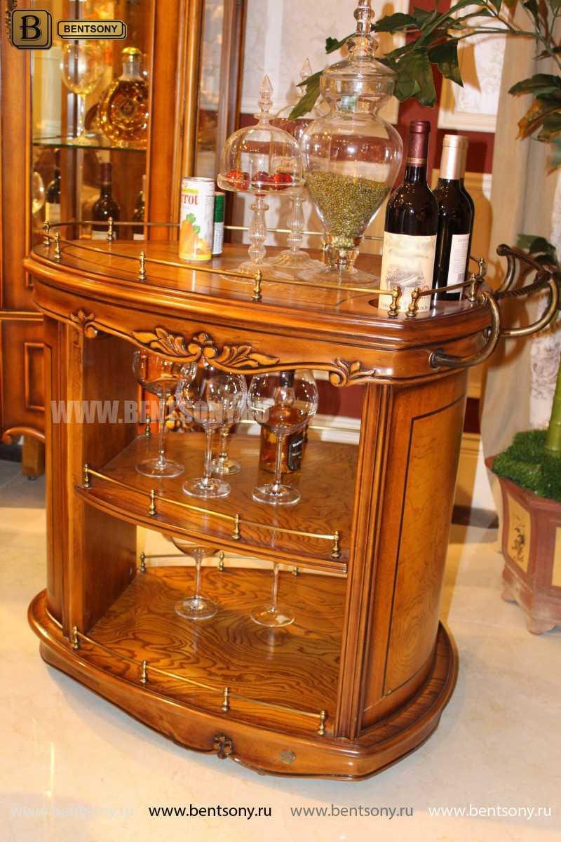 Сервировочный столик Дакота (Классика, массив дерева) сайт цены