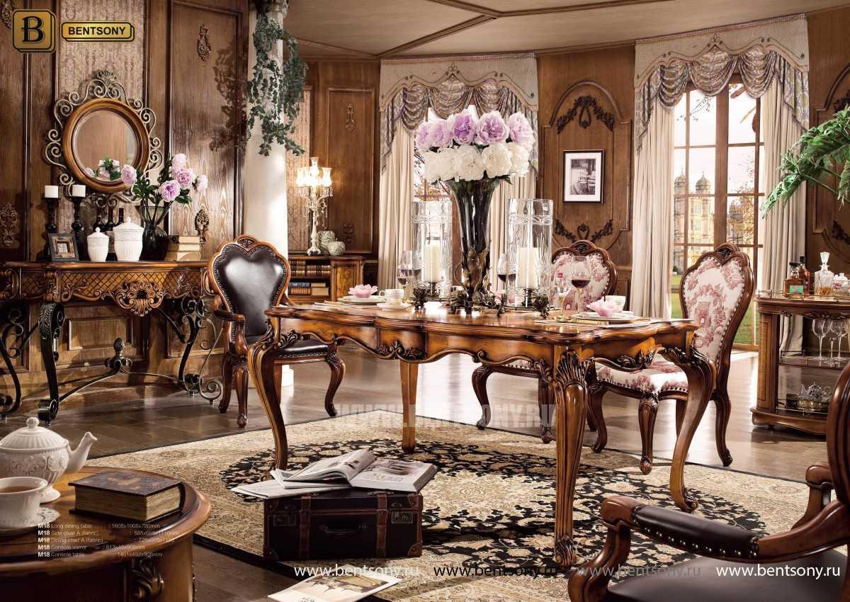 Сервировочный столик Дакота (Классика, массив дерева) каталог