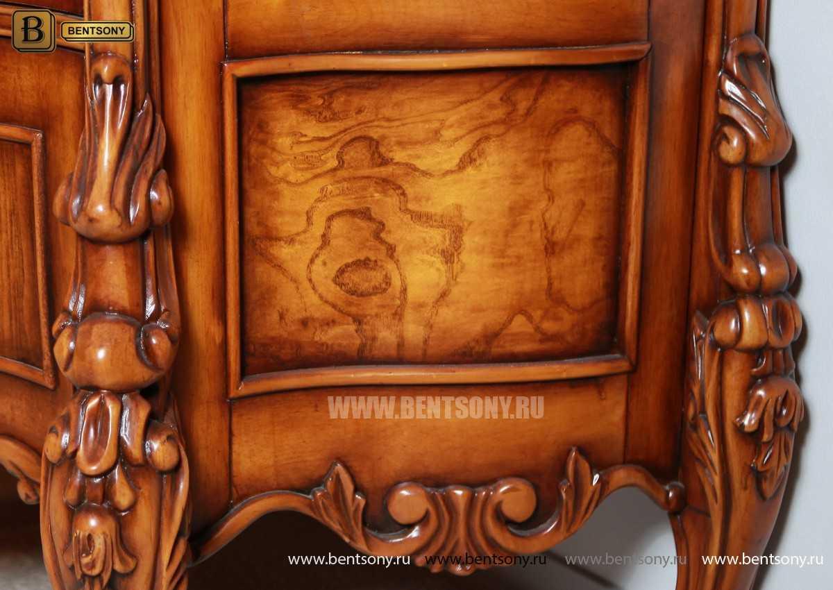 Витрина 2-х дверная Дакота (Классика, массив дерева) распродажа