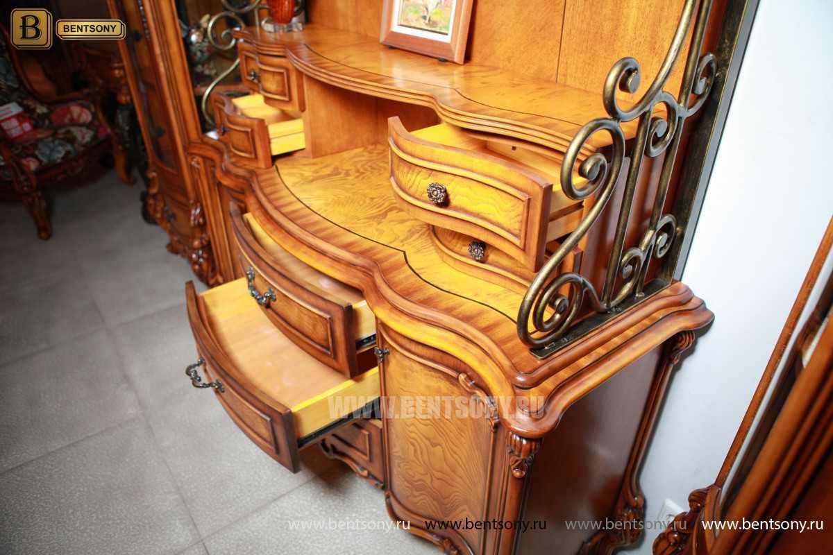 Комод с надстройкой Дакота (Витрина, Буфет)  каталог мебели