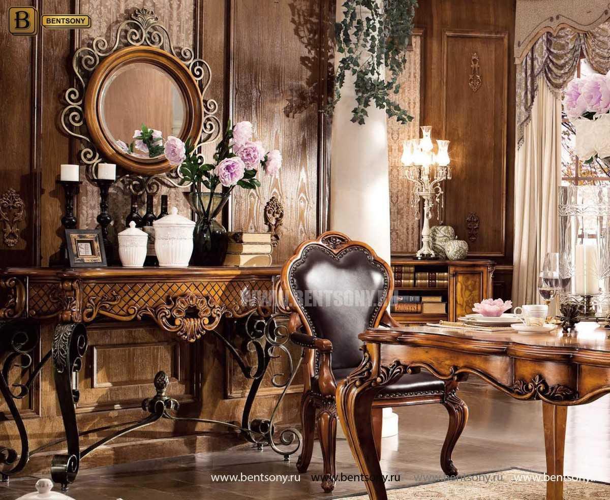 Консоль Дакота (Деревянная столешница) для дома