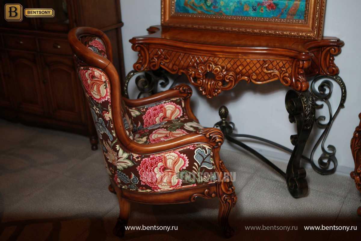 Консоль Дакота (Деревянная столешница) для квартиры