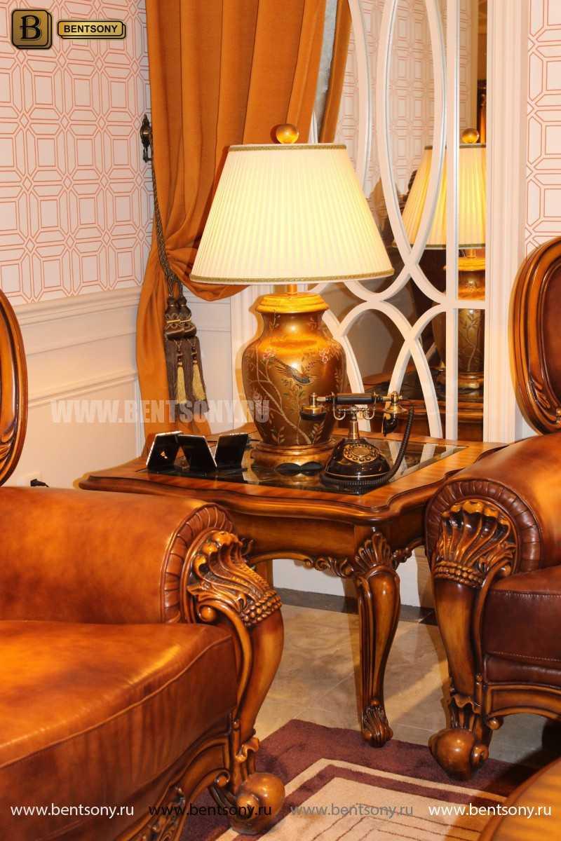 Стол Журнальный Чайный Дакота А (Массив дерева, стекло) цена