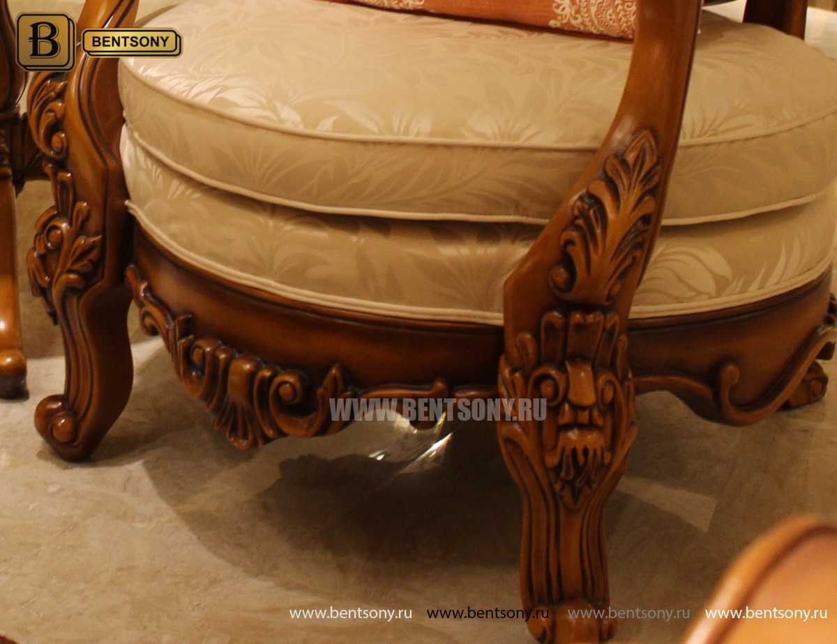 Кресло-стул Дакота А (Массив дерева) фото