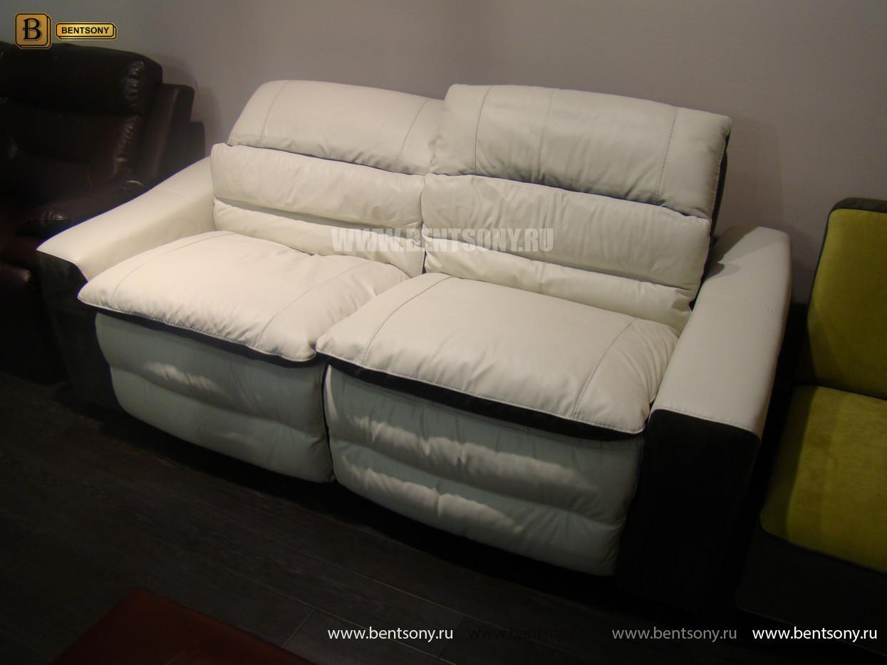 белый кожаный диван купить москва