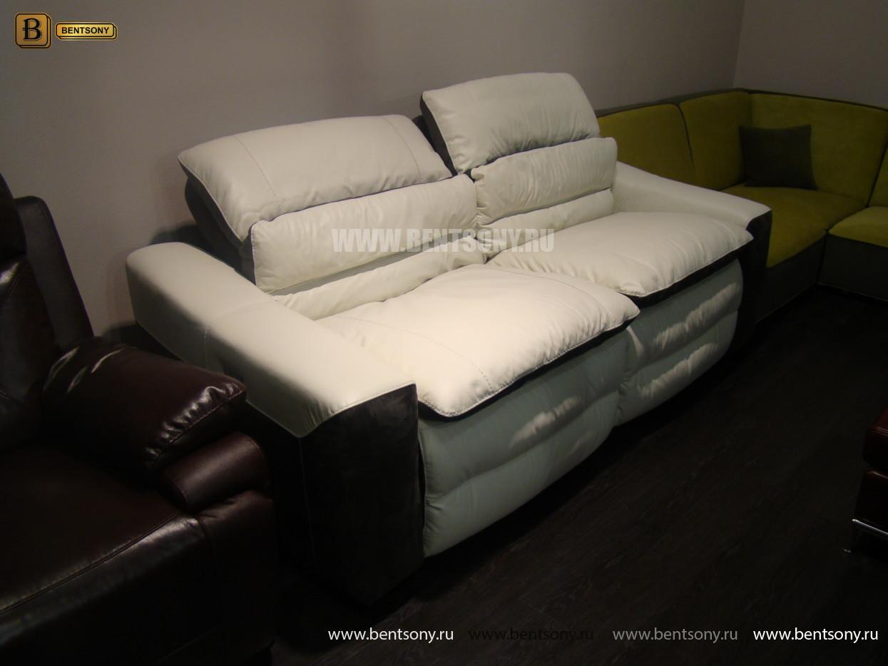 прямой кожаный диван купить