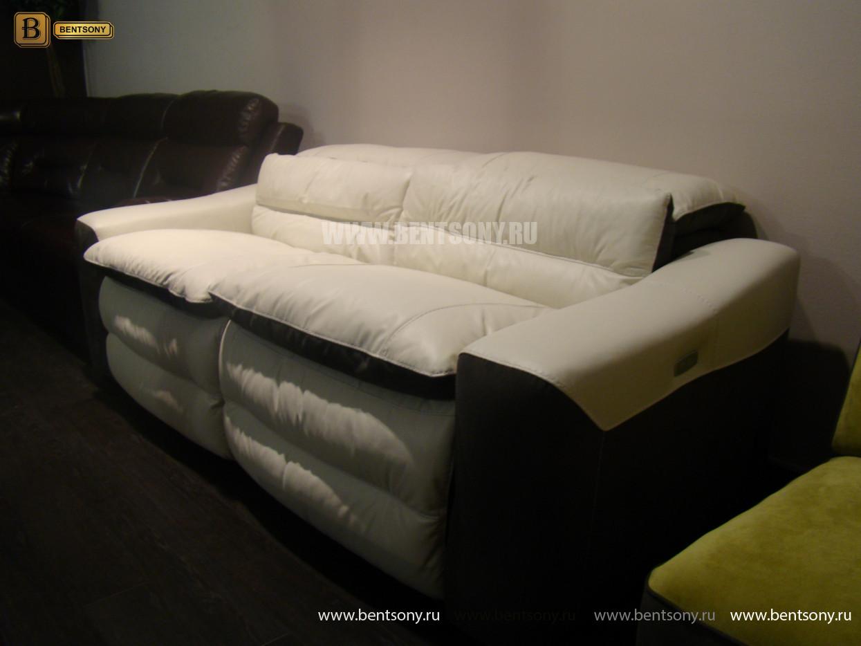 диван обивке натуральная кожа