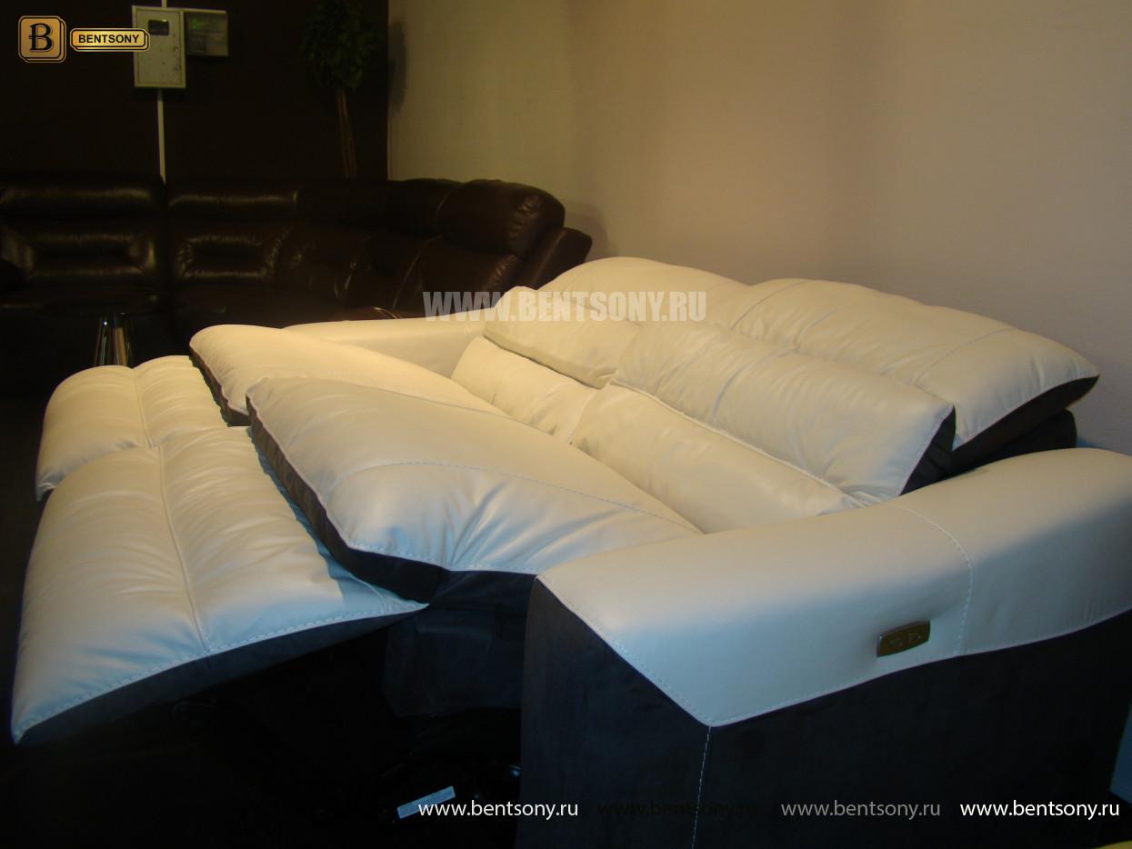 диван из натуральной кожи спальное место