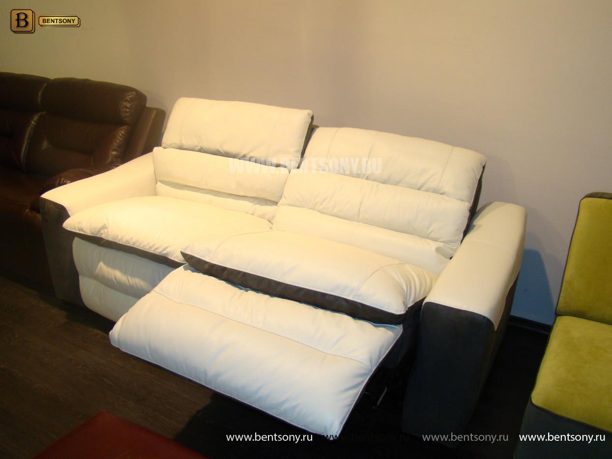 прямой кожаный диван Урбано